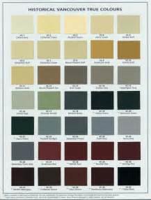 vancouver heritage foundation true colours palette