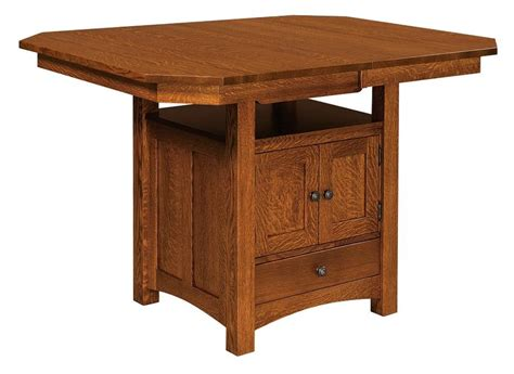 dining table cabinet bassett cabinet base amish dining table