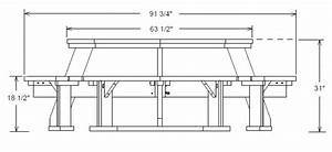 Wood Working  Free Octagon Picnic Table Plans And Drawings