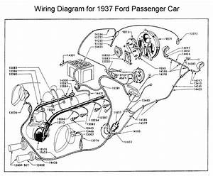 wiring diagram for 1937 ford wiring pinterest With hot wiring a car
