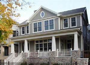 maison americaine maison americain confort with maison With good plan de belle maison 11 terrasse