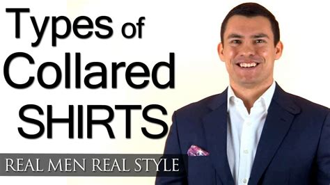 Different Types Of Men's Collared Shirts