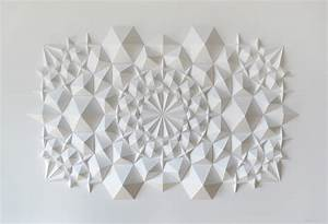 New Geometric Paper Art from Matthew Shlian   Colossal