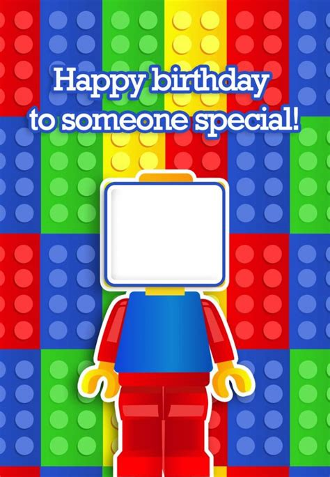 birthday card printables image collections free birthday cards card invitation design ideas lego birthday cards unique