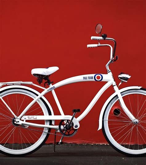 Paul Frank Beep White paul frank white bullseye bicycle i paul frank