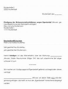Mieter Kündigen Gründe : k ndigung mietvertrag eigenbedarf k ndigung vorlage ~ Watch28wear.com Haus und Dekorationen