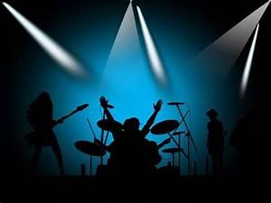 nicepowerpointtemplate: Cartoon concert dynamic PPT ...