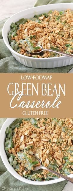 fodmap green bean casserole delicious