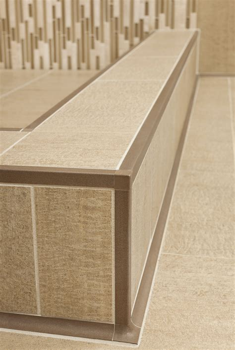 Schluter Tile Edging Colors by Sand Dune Schluter