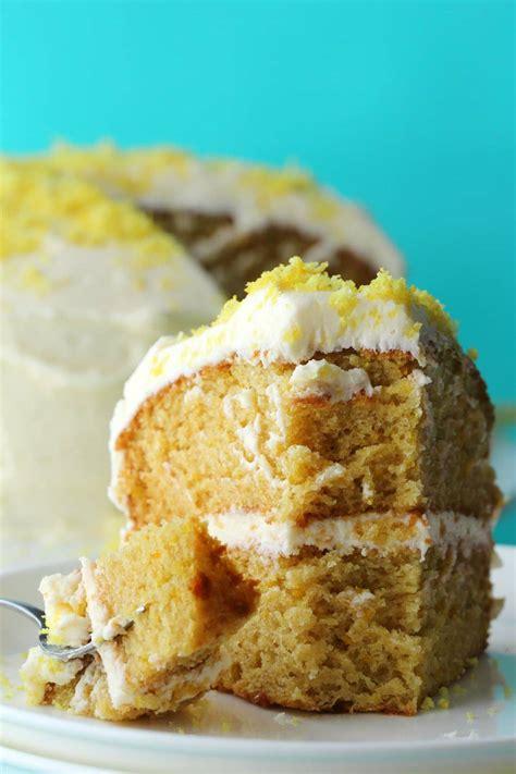 vegan lemon cake loving  vegan