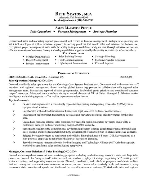 Resume Of Manager Operations by Sales Operations Manager Resume Printable Planner Template