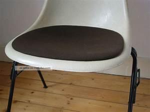 Bürostuhl Klassiker Vitra : sitzauflage polster f eames side chair vitra herman ~ Michelbontemps.com Haus und Dekorationen