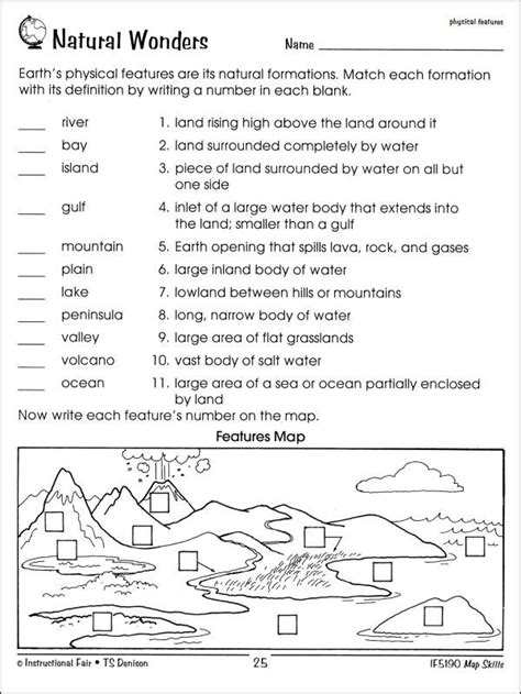 Worksheet Map Skills Worksheets 3rd Grade Free Map Skills Worksheets Imperialdesignstudio