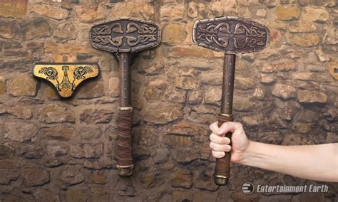 wield the power of a norse god with historical replica of