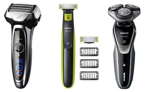 electric shavers beard trimmers men