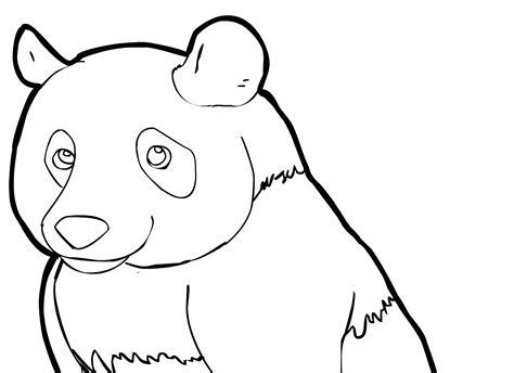 printable panda coloring pages  kids animal place