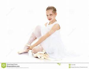 The girl wears pointe shoes stock photo image 57227806 for Dance where you sit on the floor
