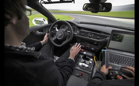 2018 Audi Rs 7 Piloted Driving Concept Interior 1