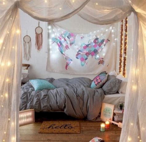 cozy bohemian teenage girls bedroom ideas roundecor
