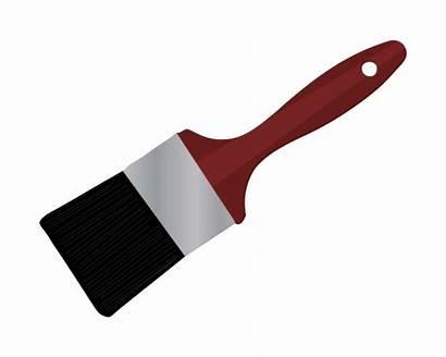 Brush Paint Clipart Paintbrush Cliparts Domain Clip
