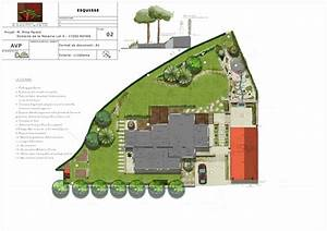plan amenagement jardin l39univers du jardin With plan amenagement jardin rectangulaire