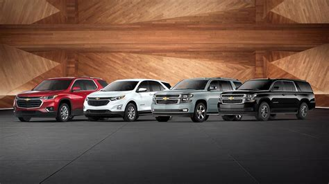 chevy suv lineup bradshaw automotive greer sc