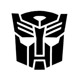 transformers autobot symbol stencil  stencil gallery