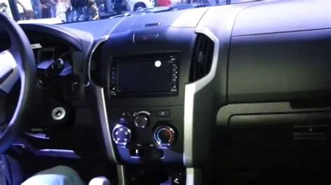 chevrolet dmax   video interior colombia youtube