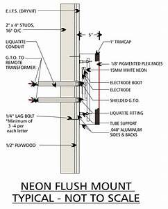 Channel Letter Neon Wiring Diagram