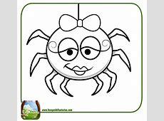 99 DIBUJOS DE ARAÑAS ® Arañas para colorear infantiles y