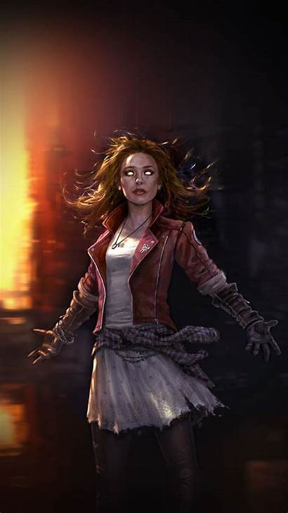 Scarlet Witch Avengers Wallpapers Mcu Age Marvel