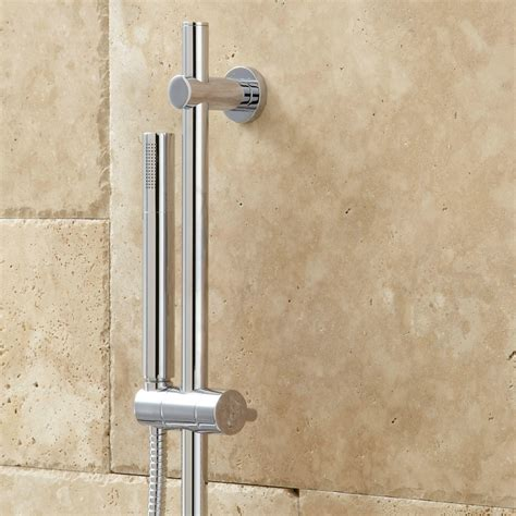 isola thermostatic shower system  wall shower modern