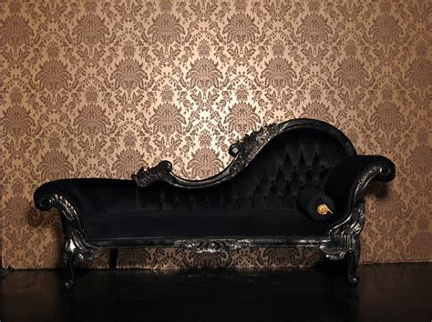 chaise boudoir chamber 2 quot the boudoir quot black dressing table