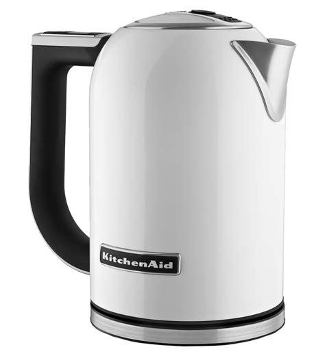 kitchenaid white electric kettle kekwh abt