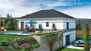 Type De Sol Maison : plan maison individuelle sur sous sol complet maison gli res ~ Melissatoandfro.com Idées de Décoration
