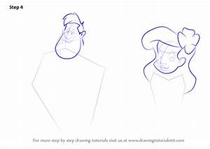 Step by Step How to Draw Adam and Eve from Animaniacs ...