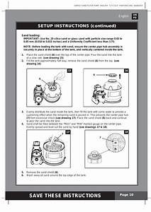 Save These Instructions  Setup Instructions  Continued