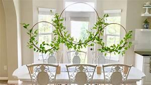 Studio 5 - Classy Hula Hoop Wreath Centerpiece