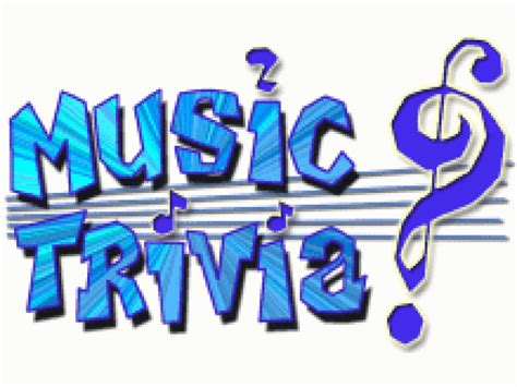 MUSIC Trivia Night! (*This is not a fund raiser ...