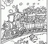 Train Drawing Circus Coloring Line Getdrawings Drawings Transport sketch template