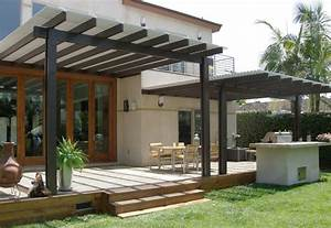 Twelve remarkable aluminum patio covers suggestions and for Modern patio cover designs