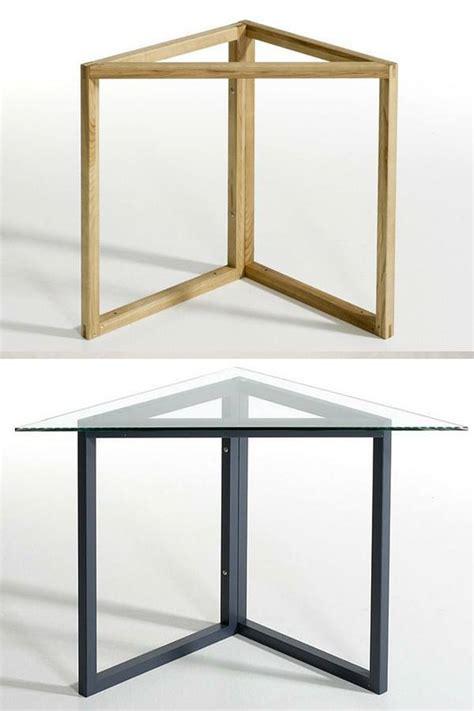 bureau chene massif tréteaux design 21 idées pour la table ou le bureau