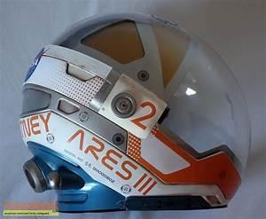 The Martian Watney Mars Mission EVA helmet replica movie ...