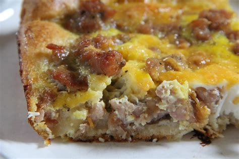 breakfast casserole with sausage and egg casserole with crescent rolls