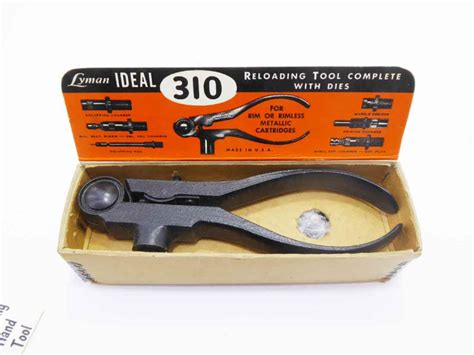 lyman ideal  loading tool mint iob  tool exchange