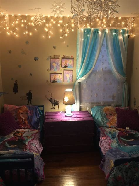 frozen girls bedroom ideas  pinterest frozen