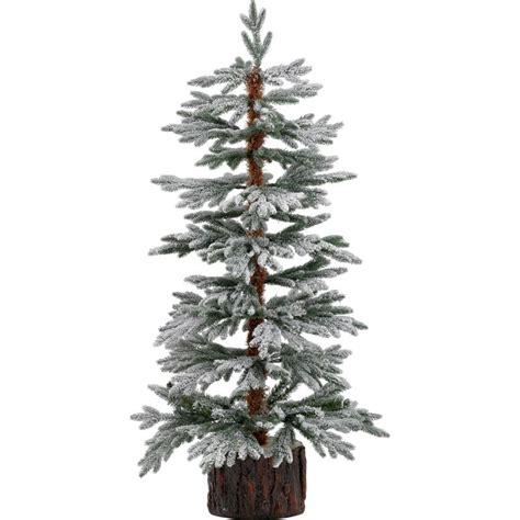 john lewis prelit led snowy paper tree 4ft gift shop
