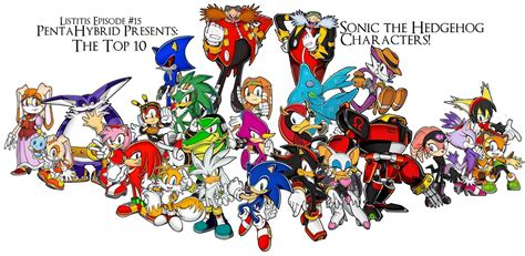 Top 10 Sonic The Hedgehog Characters [1