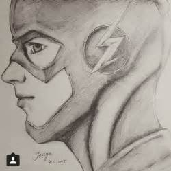 Flash Barry Allen Drawing