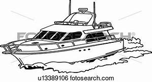 Power Boat Clipart #1877792